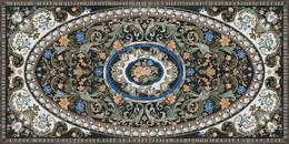 Декор Фиори обрезной лаппатированный