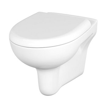 Унитаз подвесной Nature New Clean On с кр.дюр. lift, easy-off, белый-11417