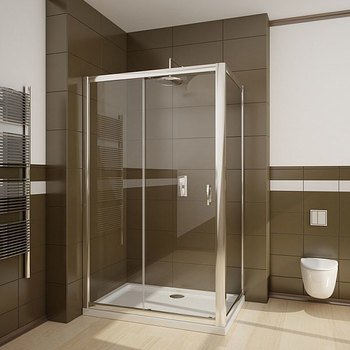 Душевая дверь Premium Plus DWJ 130*190 хром/прозр 33333-01-01N-15501
