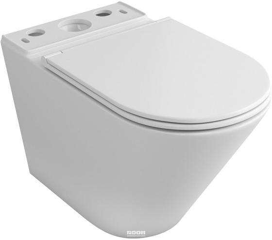 Чаша унитаза-компакта напольного безободкового OWL Vind Cirkel-G с сиденьем DP микролифт - главное фото