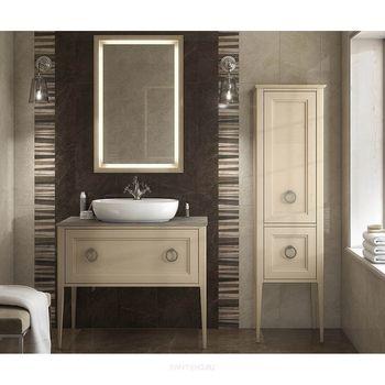 Панель с зеркалом PLAZA Classic 65 капучино-14409