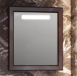 Зеркало карат 80 Белый/серебро Opadiris