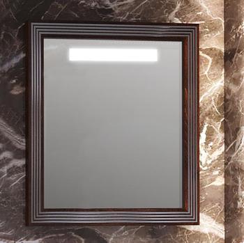Зеркало карат 80 Белый/серебро Opadiris-13185