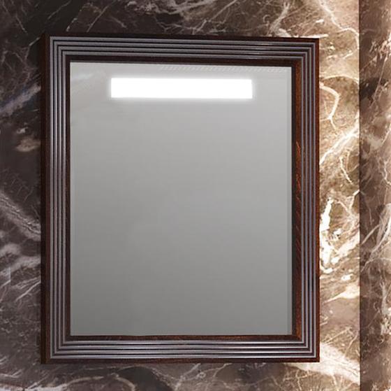 Зеркало карат 80 Белый/серебро Opadiris - главное фото