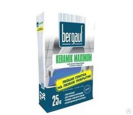Бергауф Keramik Maximum PLUS 25кг клей для всех видов плитки и сложных оснований