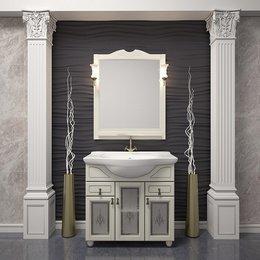 Мебель для ванной Тибет 75 Слоновая кость Opadiris
