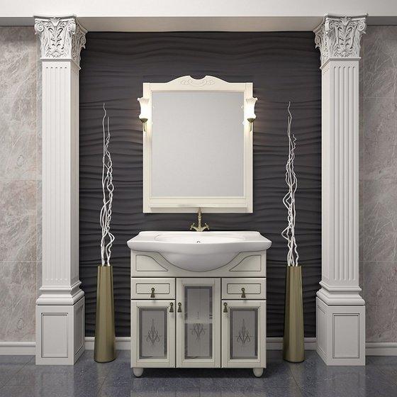 Мебель для ванной Тибет 75 Слоновая кость Opadiris - главное фото
