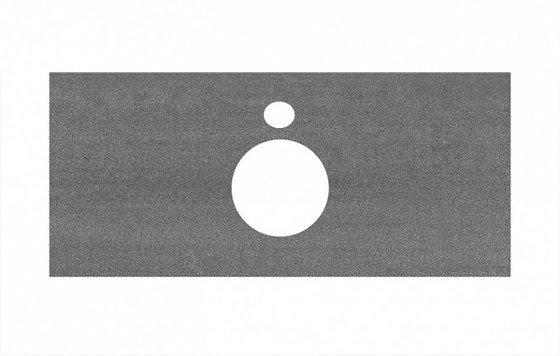 Спец. изделие декоративное для накладных раковин Про Дабл антрацит  - главное фото