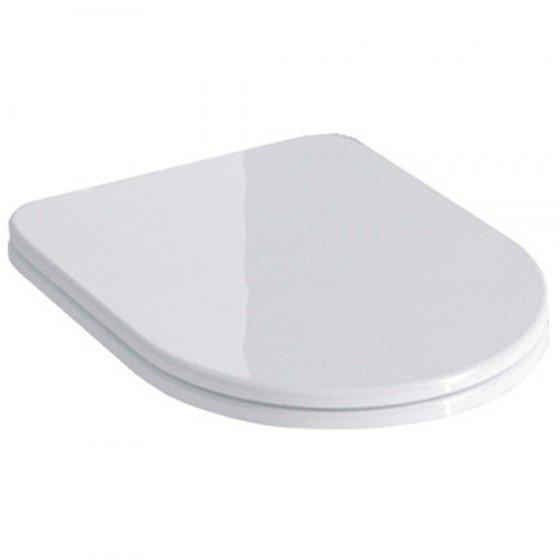 Сиденье POMPEI Soft close + Clip up белый - главное фото
