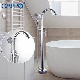 Смеситель для ванны напольный G3098 хром.
