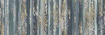 Декор Тори полосы голубой-13521
