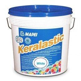 Клей для плитки и камня Mapei Keralastic T белый 5 кг