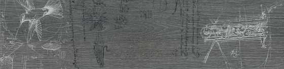 Абете серый тёмный обрезной декор 1 - главное фото