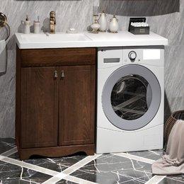 Комплект мебели под стиральную машинку Клио 56 нагал