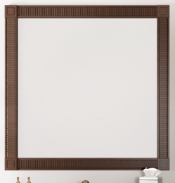 Зеркало Фреско 100 Светлый орех Opadiris
