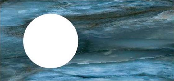 Спец. изделие декоративное 97х48.5 CONO Onice синий с отверстием под смеситель керамическое - главное фото