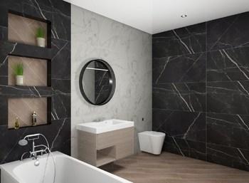 Дизайн-проект «Calacatta Black»-20461
