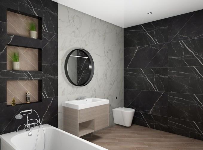 Дизайн-проект «Calacatta Black»