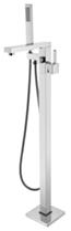 CS-51001 Смеситель напольный отдельностоящий, Хром. Calypso