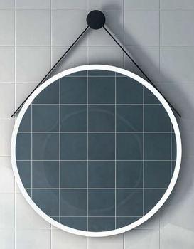 Зеркало CONO круглое 70 черный матовый-16634