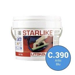 Эпоксидная затирка Starlike C.390 Artic Blu 5 кг