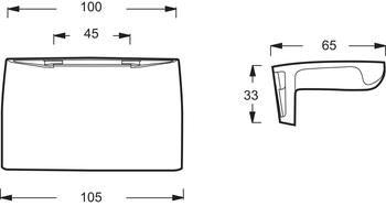 E75110-CP Комплект ручек для ванн Jacob Delafon Super Repos, Repos, Adagio-18030