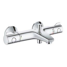 """34576000 Grohtherm 800 Термостат для ванны 1/2"""", регулируемый аэратор, настенный монтаж GROHE"""