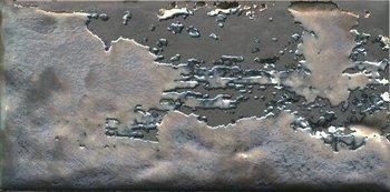 Декор Граффити металл серый темный-12271