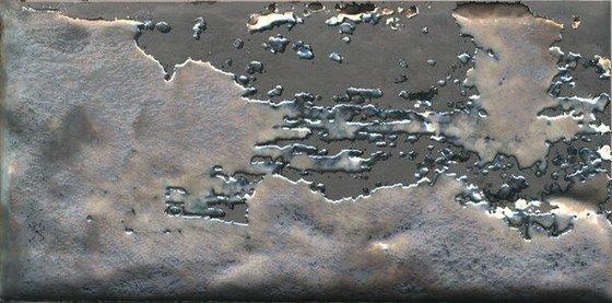 Декор Граффити металл серый темный - главное фото