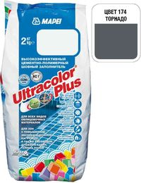 Затирка Ultracolor Plus №174 (торнадо) 2 кг.