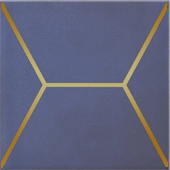 Декор Витраж синий - главное фото