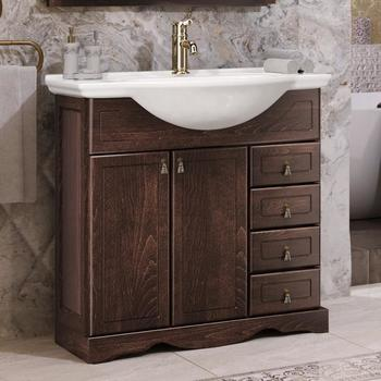 Мебель для ванной Клио 75 Орех антикварный Opadiris-13294