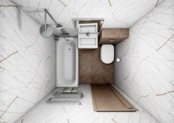 Дизайн-проект «Элегантный мрамор»-20118