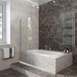 Шторка на ванну 700х1500 PL79-70-01-C4 стекло прозрачное 5 мм