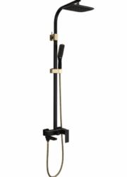 Душевая система A2406-6 (черн./золото) Faop  - главное фото