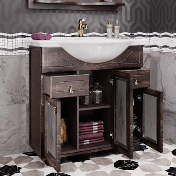 Мебель для ванной Тибет 70 Орех антикварный Opadiris-13267