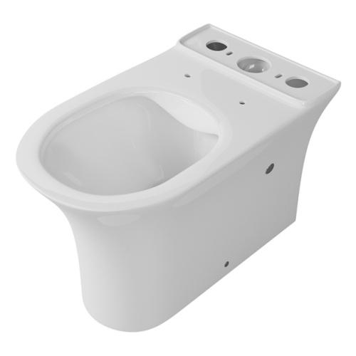Чаша унитаза-компакта напольного безободкового OWL Eter Cirkel-G с сиденьем DP микролифт - главное фото