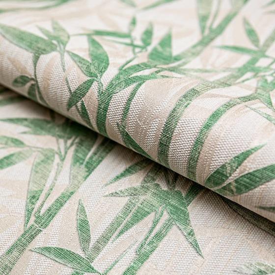 Обои Бамбук бежевый светлый зеленый мотив - главное фото