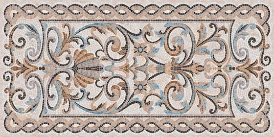 Мозаика беж декорированный лаппатированный - главное фото