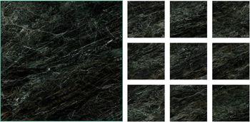 Караташ черно-зеленый полированный-18277