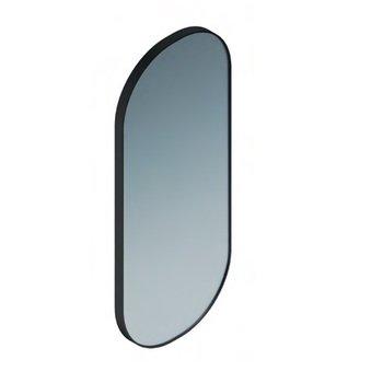 Зеркало CONO овальное 42 черный матовый-14918