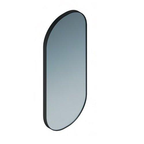 Зеркало CONO овальное 42 черный матовый - главное фото