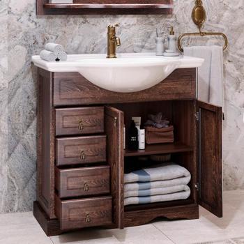 Мебель для ванной Клио 75 Орех антикварный Opadiris-13295
