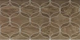 Ethereal Soft Brown Geometric Decor Glossy