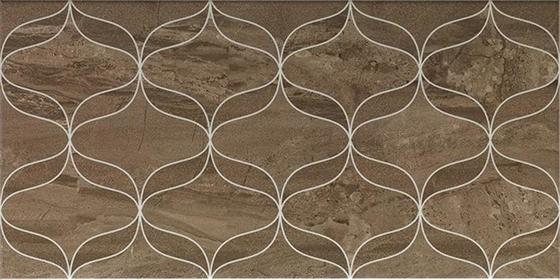 Ethereal Soft Brown Geometric Decor Glossy  - главное фото