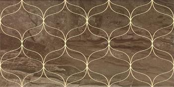 Ethereal Gold Geometric Decor Soft Brown Glossy -10882