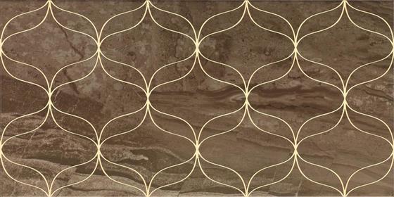 Ethereal Gold Geometric Decor Soft Brown Glossy  - главное фото