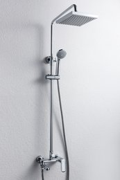 Душевая колонна со смесителем для ванны  F6125183CP-A-RUS OPAL