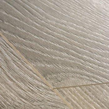 Доска дуба светло-серого старинного-11053
