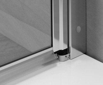 Душевая дверь EOS DWJ 100 без матовой вставки-15405